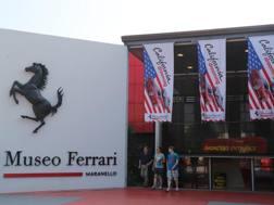 Il Museo Ferrari di Maranello. Ansa