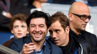 Sebastien Grosjean (a sinistra). Afp