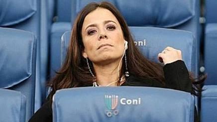 Rosella Sensi, ex presidentessa della Roma. Lapresse