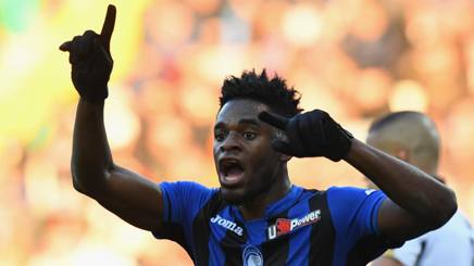 Duvan Zapata, attaccante dell'Atalanta. Getty