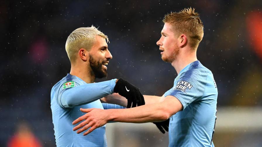 Inghilterra, Coppa di Lega: il City elimina il Leicester. Burton in ...
