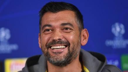 Sergio Conceiçao, allenatore del Porto. Afp