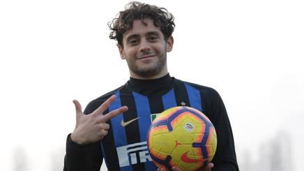 Davide Merola, autore di una tripletta contro il Palermo. Getty