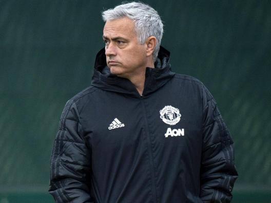 José Mourinho, ex manager del Manchester United. Epa