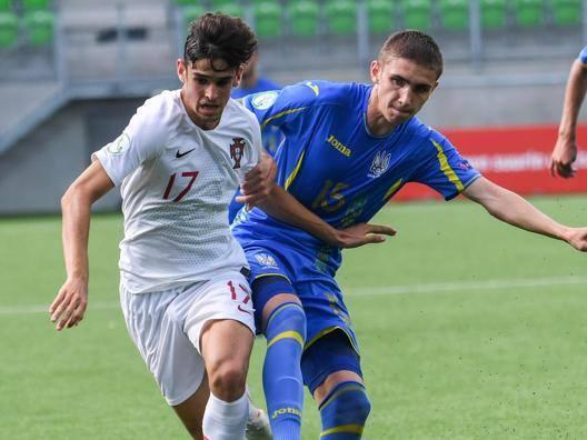 Francisco Trincao, 18 anni, con la maglia del Portogallo all'Europeo U19 vinto la scorsa estate. Epa