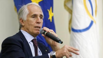 Giovanni Malagò, Presidente del Coni. Getty
