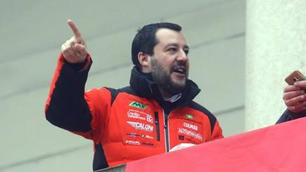 Matteo Salvini. ANSA