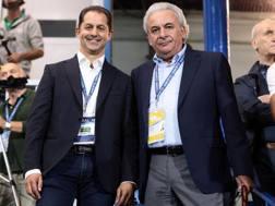 Simone Colombarini e Walter Mattioli ANSA