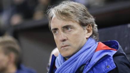 Roberto Mancini, ct della Nazionale. Epa