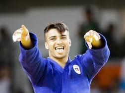 Fabio Basile, 24 anni, campione olimpico nella categoria 66 kg a Rio de Janeiro.  AP