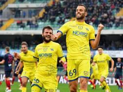Riccardo Meggiorini, attaccante del Chievo Verona. Getty