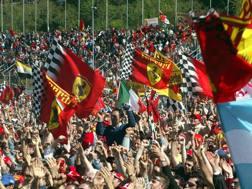 Il pubblico italiano è tra quelli più numerosi ai GP. Ansa