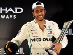 Lewis Hamilton, 5 titoli iridati in F.1. Afp
