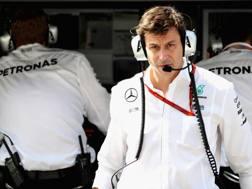 Toto Wolff, team principal Mercedes. Getty