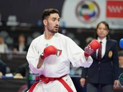 Angelo Crescenzo, campione del Mondo in carica categoria -60 kg e primo nel ranking.