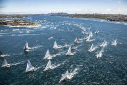 La partenza della Sydney-Hobart: classica di Santo Stefano