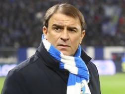 Leonardo Semplici, allenatore della Spal. Lapresse