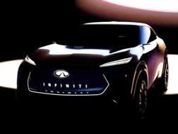 Il teaser della vettura tutta elettrica firmata Infiniti