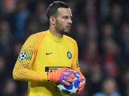 Samir Handanovic, portiere dell'Inter. Getty
