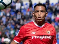Luis Muriel, attaccante del Siviglia. Getty