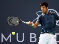Il serbo Novak Djokovic. Epa