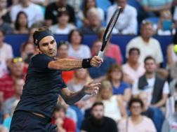 Roger Federer, 37 anni. Getty