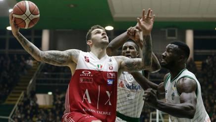 Avellino ha fermato Milano dopo 12 vittorie di fila. Ciam/Cast