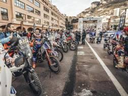 La carovana dell'Africa Eco Race al via di Montecarlo