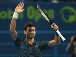Novak Djokovic. Afp