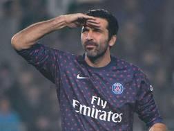 Gianluigi Buffon, portiere del Paris Saint-Germain. Afp