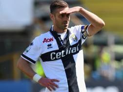 Emanuele Calaiò, 36 anni, attaccante nel mirino del Foggia. Getty