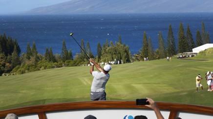 Francesco Molinari, 36 anni, alle Hawaii. Ap