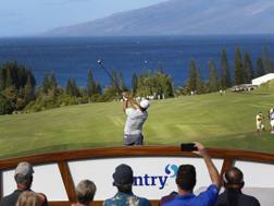 Francesco Molinari, 36 anni, alle Hawaii. Ap