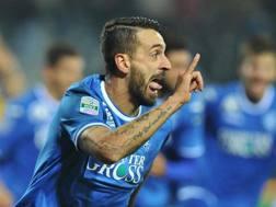 Francesco Caputo, attaccante dell'Empoli