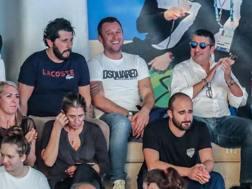 Antonio Cassano, 36 anni, in tribuna alla finale di Coppa Italia. LPS