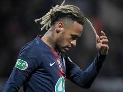 Neymar, 26 anni, attaccante del Psg. Afp