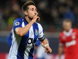 Hector Herrera, 28 anni, centrocampista messicano del Porto. Afp