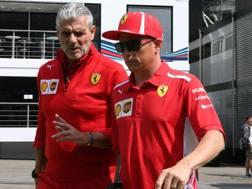 Si chiude il ciclo Ferrari per Arrivabene e Raikkonen. Lapresse