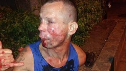 Il ladro picchiato dalla campionessa Viana