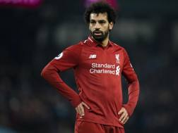 Mohamed Salah, attaccante del Liverpool. EPA
