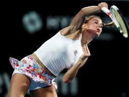Camila Giorgi, 27 anni, oggi a Sydney. Getty Images