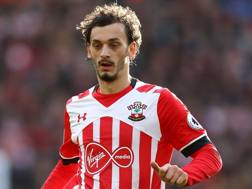 Manolo Gabbiadini, attaccante del Southampton. Getty