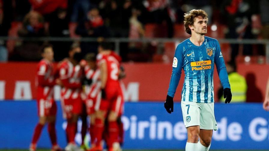 Coppa del Re, Griezmann salva l'Atletico. Simeone, stop col Girona ...