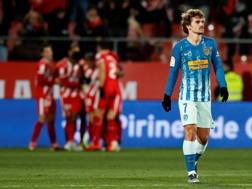 Antoine Griezmann, attaccante dell'Atletico Madrid. Getty