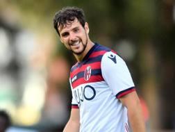 Mattia Destro, uno dei possibili giocatori in uscita dal Bologna, LaPresse