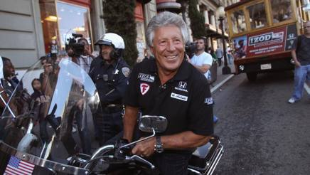 Mario Andretti. Afp