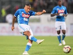 Allan Marques Loureiro, 28 anni, centrocampista del Napoli. Lapresse