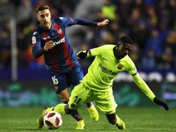 Il Barça cade in casa del Levante. Getty