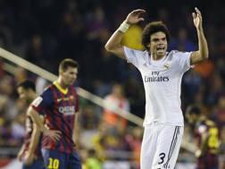 Pepe, 35 anni, qui con la maglia del Real Madrid. LAPRESSE