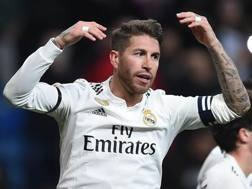 Sergio Ramos, difensore del Real Madrid. Getty